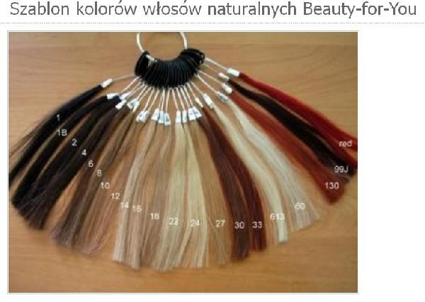 Włosy Naturalne Do Przedłużania Słowiańskie I Europejskie